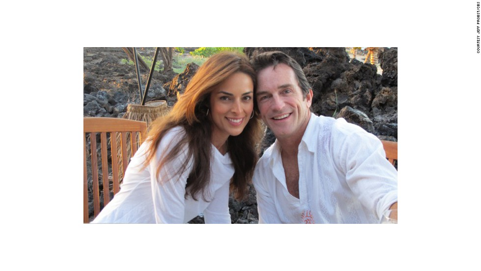 When they visit Kona, Hawaii, Probst and wife Lisa Russell say it feels like their second home.