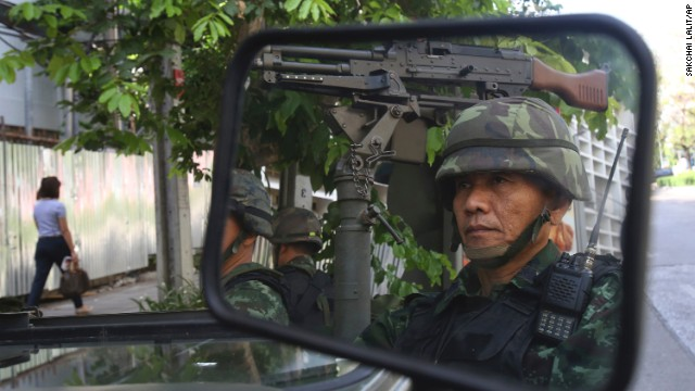 Thai military takes over in coup -- again
