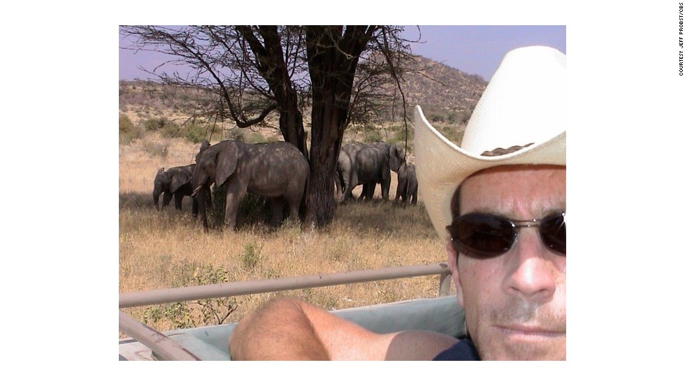 "Spotting elephants, zebras and lions was a daily occurrence in Kenya on ""Survivor"" season three. Once Probst saw lions killing and eating a zebra at pretty close range."