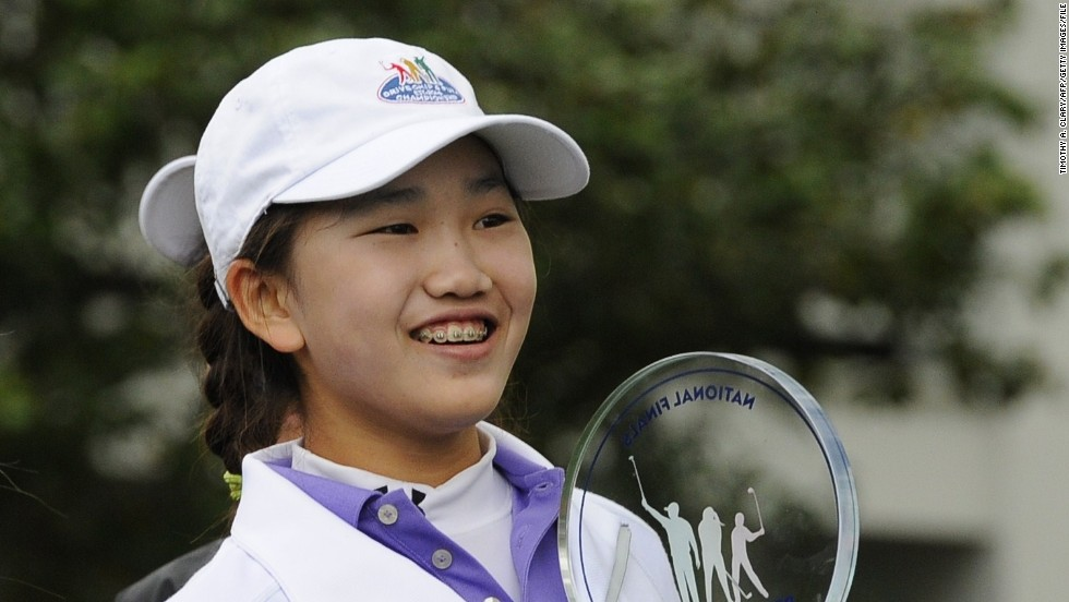 Li triumphed in the USGA's historic first round of international qualifying events to book her place at the U.S. Open.