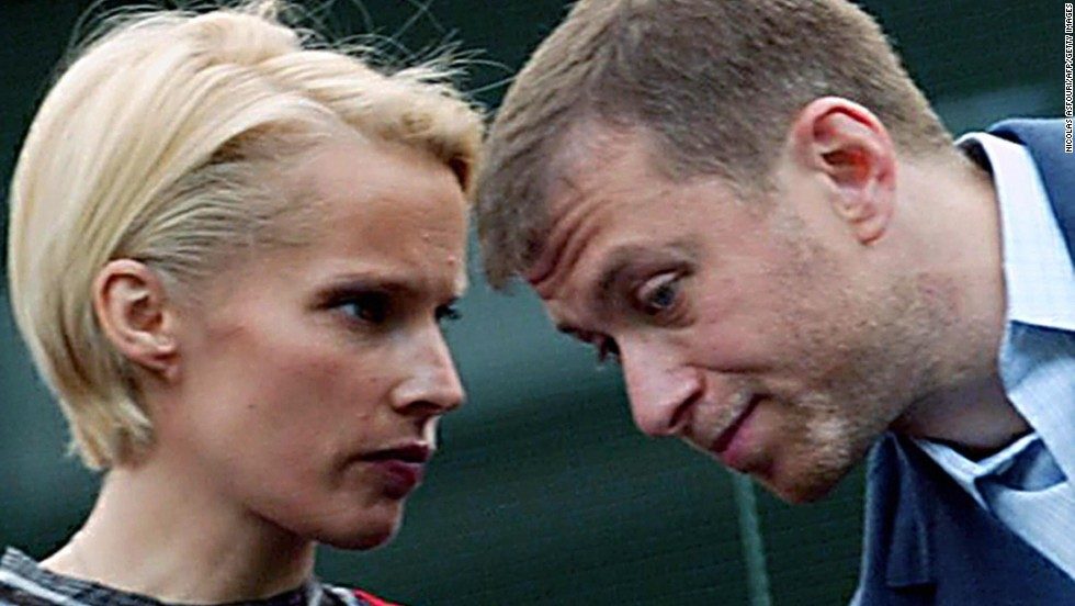 Russian billionaire Roman Abramovich and his wife Irina split at a cost of $300 million.