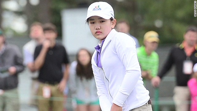 11-year-old golfer makes history