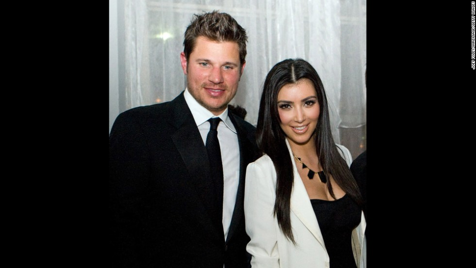"What could Nick Lachey and Kim Kardashian possibly have in common? Well, in 2006 they were both single and looking for love. This pairing, which occurred roughly six months after Lachey's breakup with Jessica Simpson, was basically one viewing of ""The Da Vinci Code"" and done. Lachey is pretty convinced Kardashian <a href=""http://www.details.com/celebrities-entertainment/music-and-books/201305/nick-lachey-98-degrees-tour"" target=""_blank"">used the date to gain publicity. </a>"