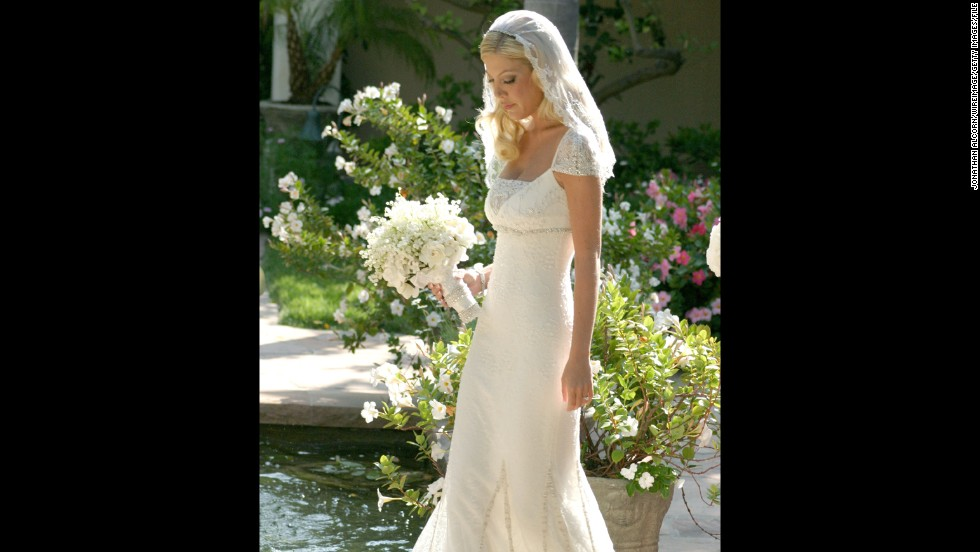 "Before her marriage to (<a href=""http://marquee.blogs.cnn.com/2014/04/23/tori-spellings-marriage-drama-shared-on-true-tori/ "">and subsequent problems with</a>) Dean McDermott, Tori Spelling wed actor-writer Charlie Shanian in an elaborate 2004 ceremony at her father's mansion. Spelling and Shanian divorced in 2006."