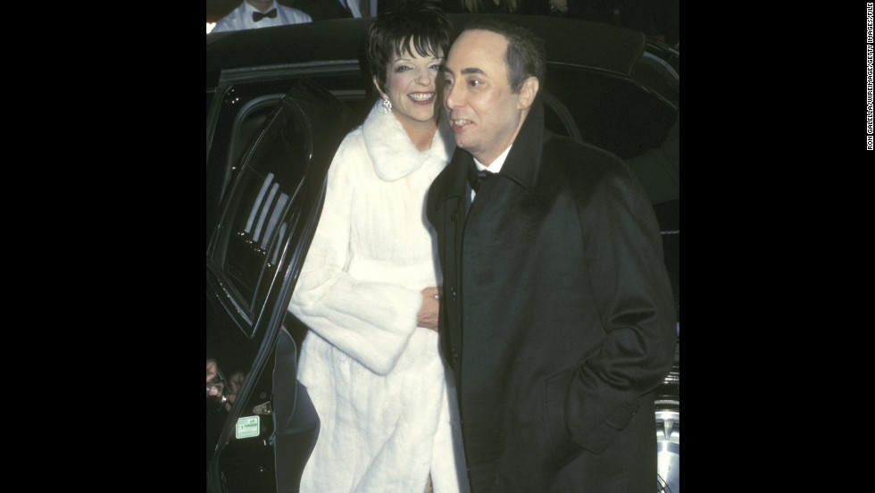 "The fourth time wasn't exactly the charm when Liza Minnelli married music promoter David Gest in New York in 2002. <a href=""http://newsfeed.time.com/2012/04/27/the-10-most-lavish-weddings-ever/slide/liza-minnelli-david-gest/"" target=""_blank"">Elizabeth Taylor and Michael Jackson were the matron of honor and best man as the couple wed before 850 guests. </a>Minnelli and Gest were divorced in 2007."