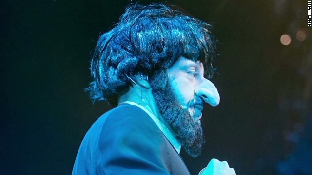 Is Macklemore's costume anti-Semitic?
