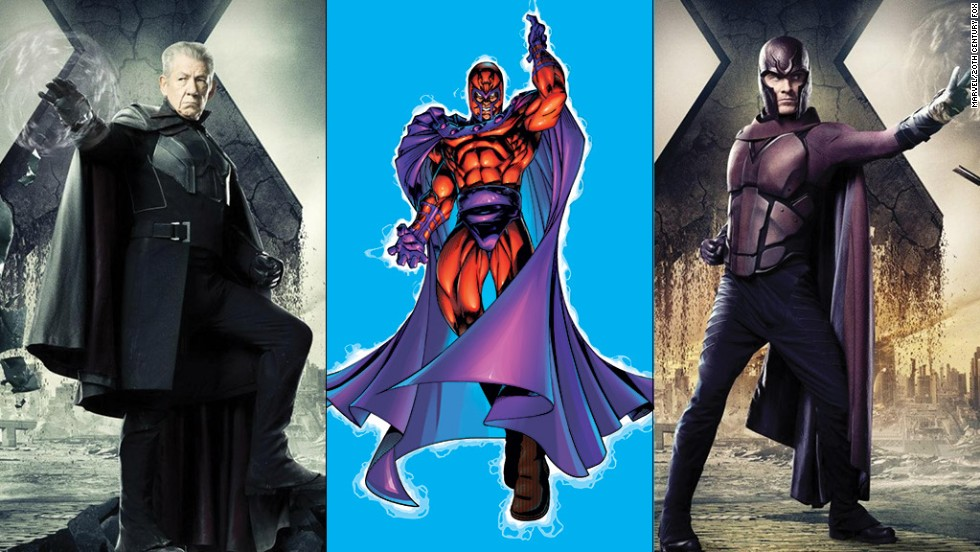 Ian McKellen and Michael Fassbender have played the X-Men's constant antagonist Magneto over the years, and just like with Xavier, both versions of Erik Lehnsherr show up in the movie.