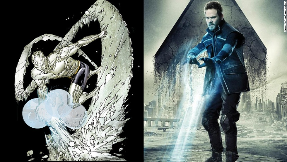 Shawn Ashmore is back as Iceman, who was one of the original X-Men when the comic books debuted more than 50 years ago.