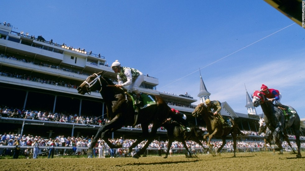 It is a far cry from 1988, when he celebrated his first Kentucky Derby victory.