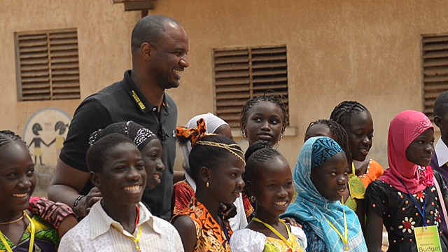 Patrick Vieira tackles Senegal education