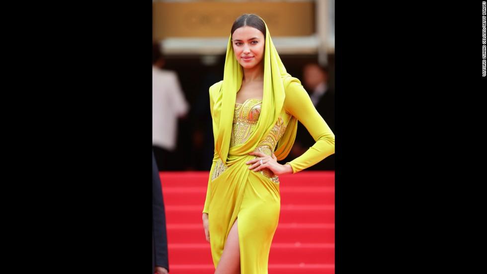 Model Irina Shayk on May 21.