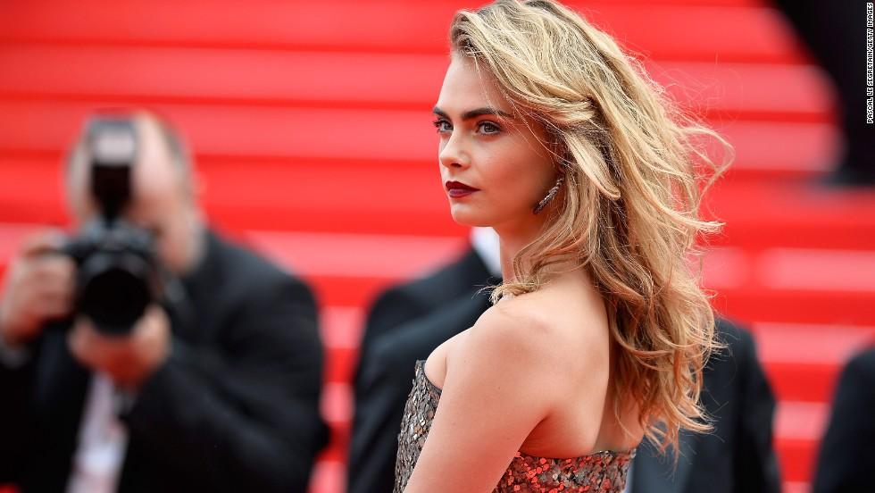 Model Cara Delevingne on May 21.