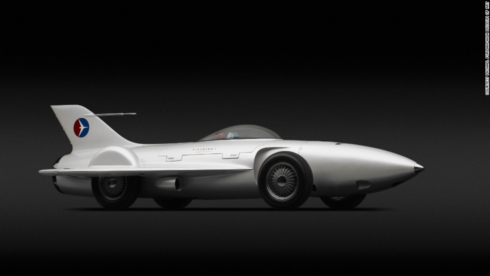 """The 1953 Firebird I XP-21 is among the spectacular concept cars featured at an Atlanta's High Museum of Art exhibit titled, """"Dream Cars.""""  This one-of-a-kind, plane-like automobile was created by legendary General Motors designer Harley Earl. Curators describe it as a """"rolling rocket."""" Click through the gallery to see more of the exhibit."""
