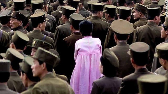 The images North Korea doesn't want seen