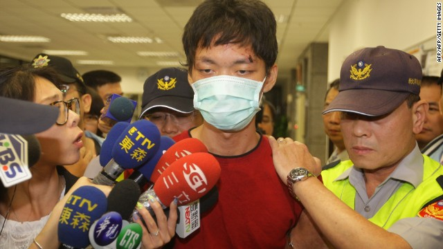 Police arrested Taiwanese college student, Cheng Chieh, Wednesday over a deadly knife attack on Taipei's subway.