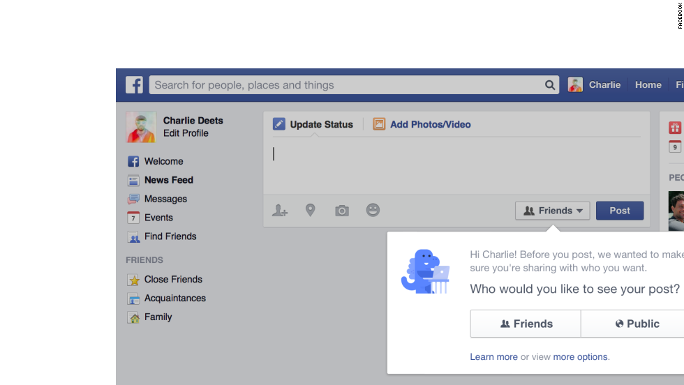 "On Thursday Facebook bowed to privacy concerns by making new users' privacy settings default to ""Friends"" instead of ""Public."" The new feature also walks existing users through privacy settings, letting them make changes if they so desire. Read on for more stats about Facebook, which turned 10 in February."