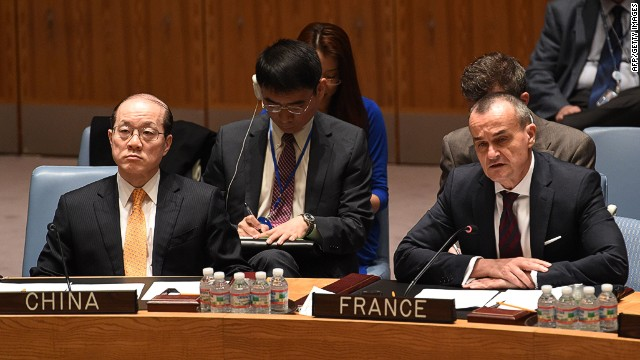 French Amb.: Syria probe veto 'absurd'