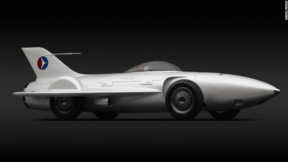 Futuristic 'dream cars' from the past