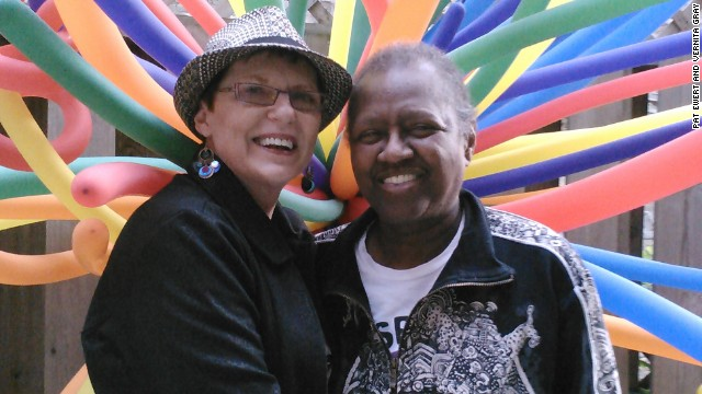 Pat Ewert and Vernita Gray
