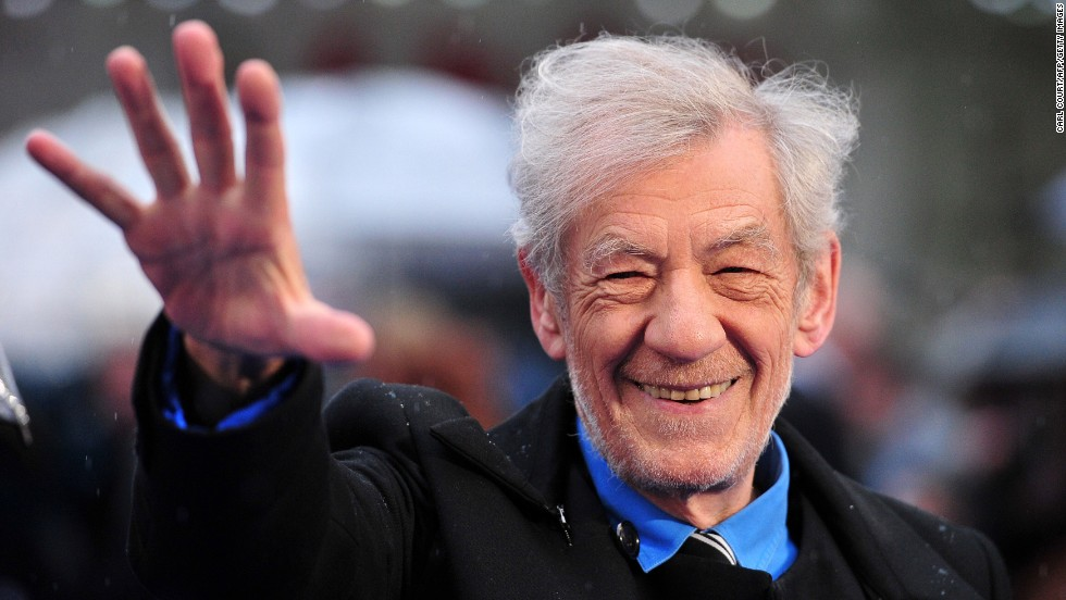 At 75, British actor Ian McKellan has stayed active, both on stage with his pal Patrick Stewart and on screen.