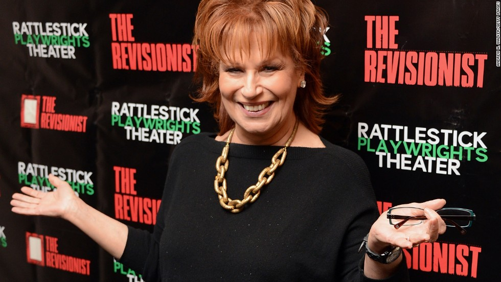 We are guessing that many folks don't know that TV personality Joy Behar is 72.