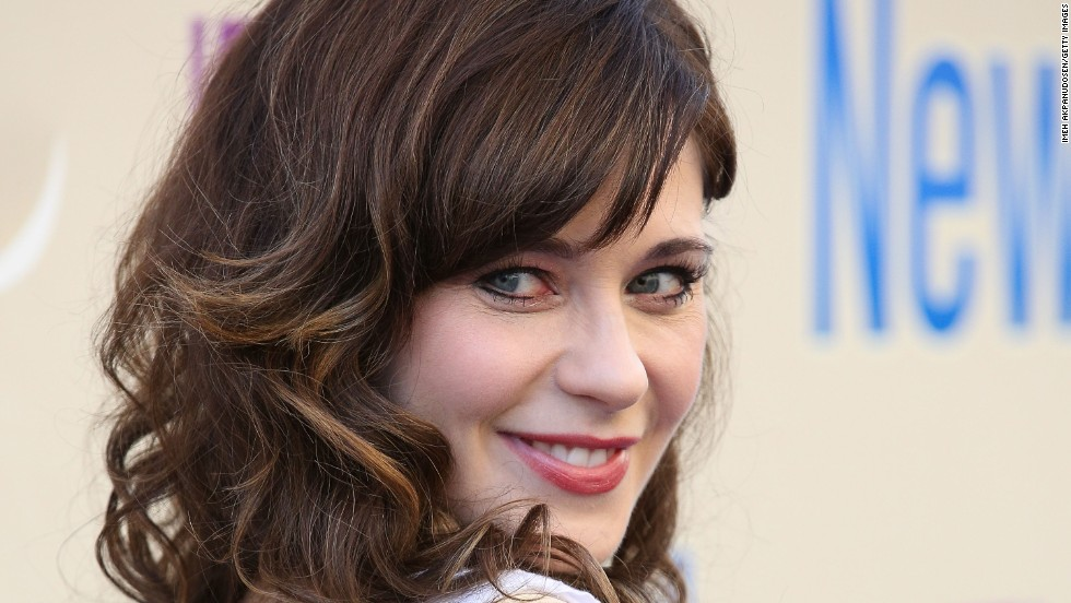No. 6: Actress Zooey Deschanel