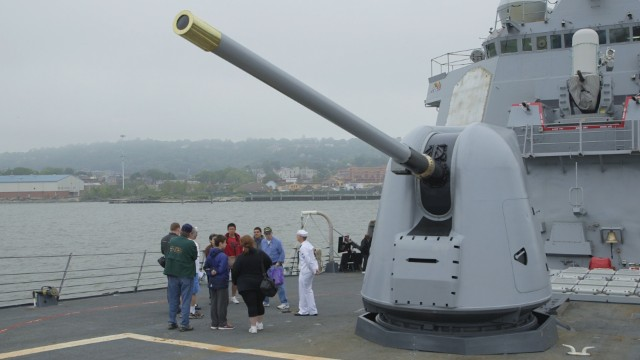 The USS Cole remembers its deadly past