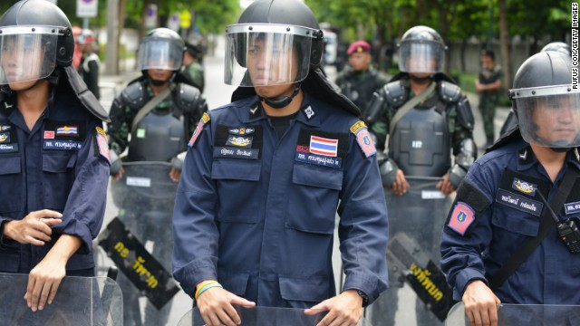 Thai military tightens grip with curfew