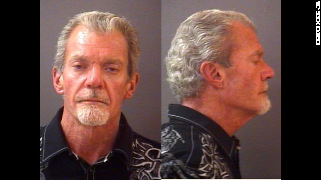 Indianapolis Colts owner Jim Irsay, shown here in his police booking photo from March 16, 2014.