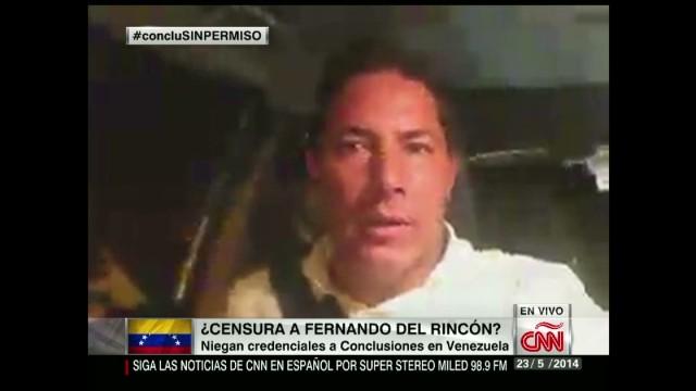 In Spanish: Venezuela niega credenciales a CNN