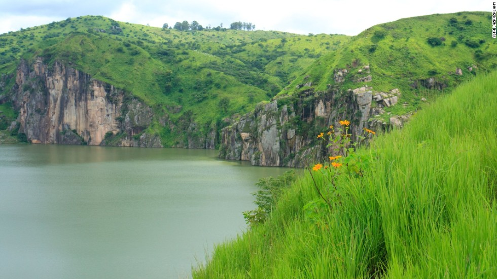 Cameroon's Lake Nyos caused one of the largest unusual natural disasters in recorded history when blew up without warning. (It's safe to see now.)