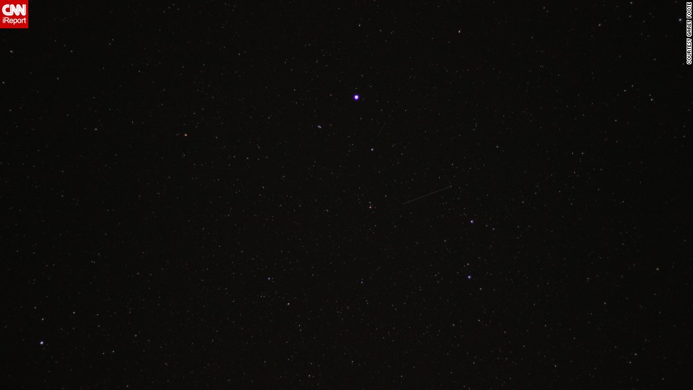 "<a href=""http://ireport.cnn.com/docs/DOC-1136480"">Garet Foote</a> was in Big Rapids, Michigan, watching the skies for the much anticipated Camelopardalids meteor shower. He says it was underwhelming, but he's looking forward to photographing upcoming meteor showers in the future."