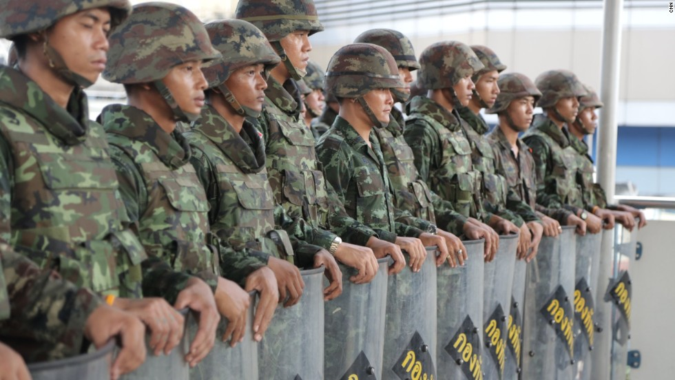 The United States and other countries have criticized the military's intervention, the latest in a long list of coups in Thailand, and called for the swift restoration of democracy.
