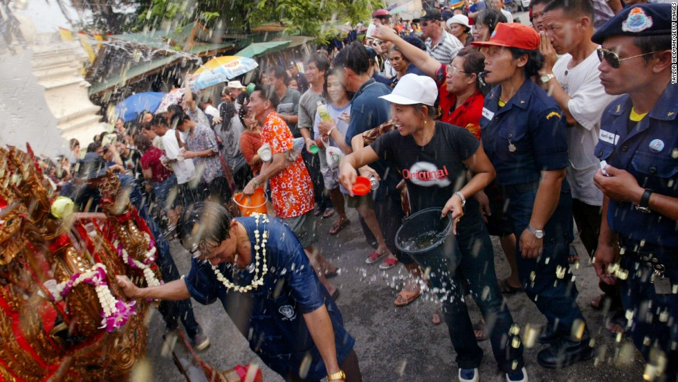 Thailand's most famous holiday is Songkran, the Thai New Year, which basically becomes a nationwide water fight. Chiang Mai has earned a reputation for hosting the wildest Songkran celebrations in the country.