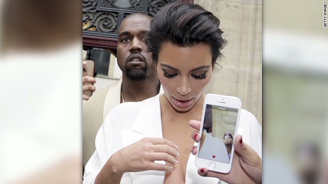 Kim Kardashian and Kanye West say I do