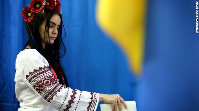 Ukraine's contentious election