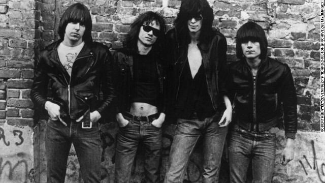 Tommy Ramone was the last surviving original member of the Ramones. From left: Guitarist Johnny Ramone (1948-2004), drummer Tommy Ramone (1949-2014), singer Joey Ramone (1951-2001) and bassist Dee Dee Ramone (1952-2002).