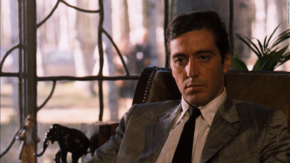 "The first two<strong> ""Godfathers""</strong> get the ""Movie Guide's"" highest rating -- four stars. The 1972 film is ""pulp fiction raised to the highest level. ... Absolutely irresistible,"" while 1974's ""Part II,"" with Al Pacino, above, is ""a sequel that's just as compelling."" The 1990 ""Part III"" rates three stars."
