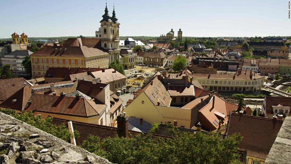 Eger, in northeastern Hungary, once changed hands as a trophy during Ottoman invasions. Today it's the center of one of Hungary's best wine regions.