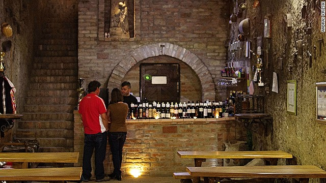 Cathedral to wine: Hagymasi Cellar
