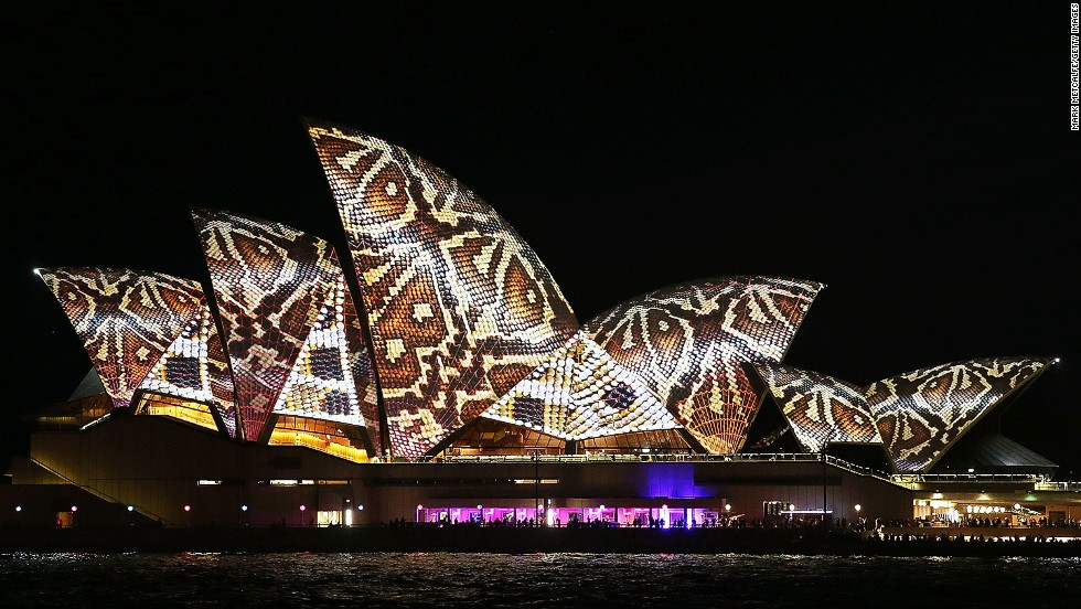 "More stunning images from the show can be found on the festival's Instagram feed @<a href=""http://instagram.com/vividsydney"" target=""_blank"">vividsydney</a>."