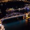 Vivid Sydney 2014 bridge