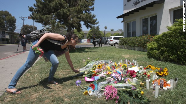 Remembering the victims of the rampage