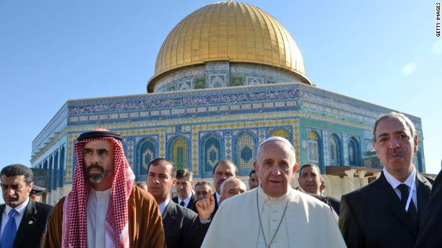 Mideast leaders to meet Pope at Vatican
