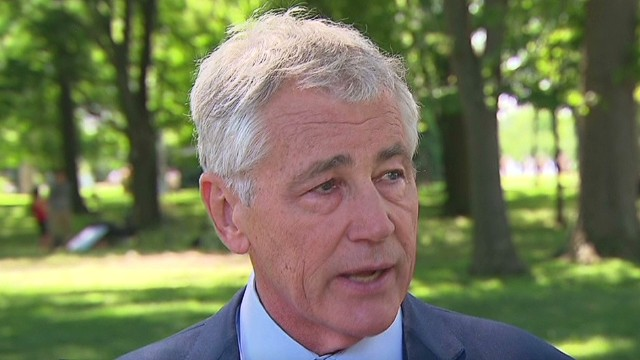 Chuck Hagel reflects on Vietnam service