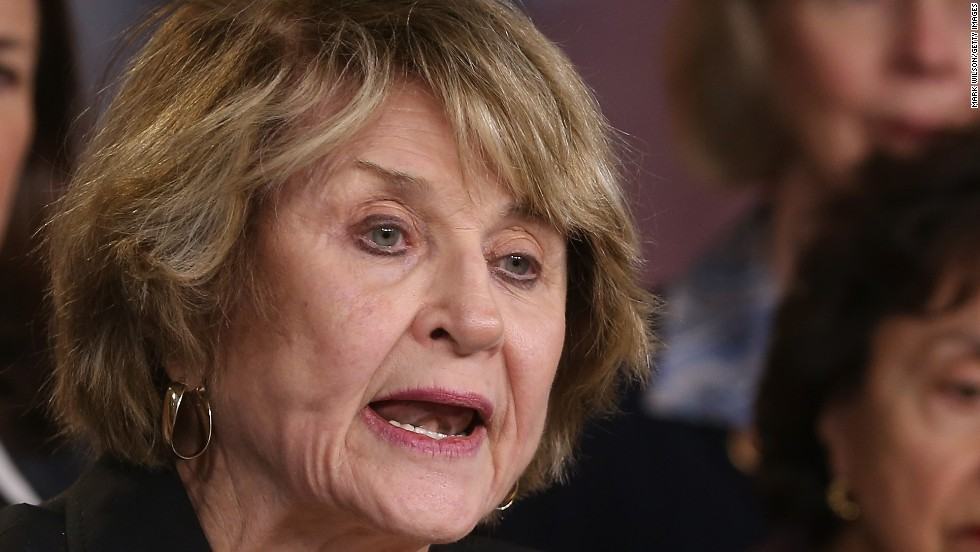 Rep. Louise Slaughter is 84. The New York Democrat was first elected in 1987 and is the only woman among the top five oldest members.