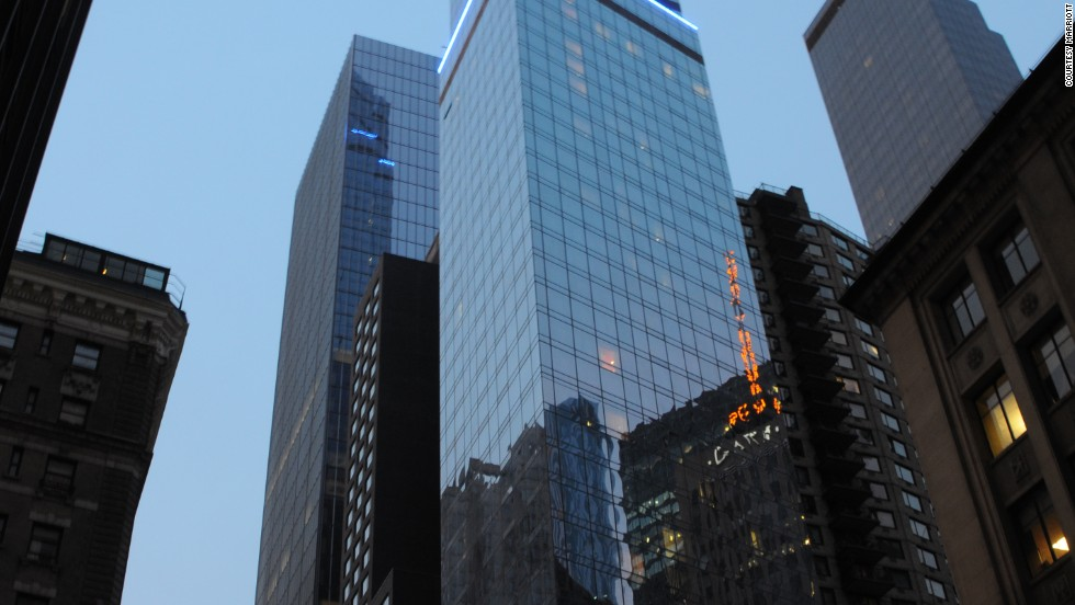The Courtyard-Residence Inn Central Park is North America's tallest hotel and a towering example of the trend of packaging two hotel brands in one location.
