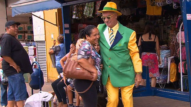 Meet Brazil's biggest soccer fan