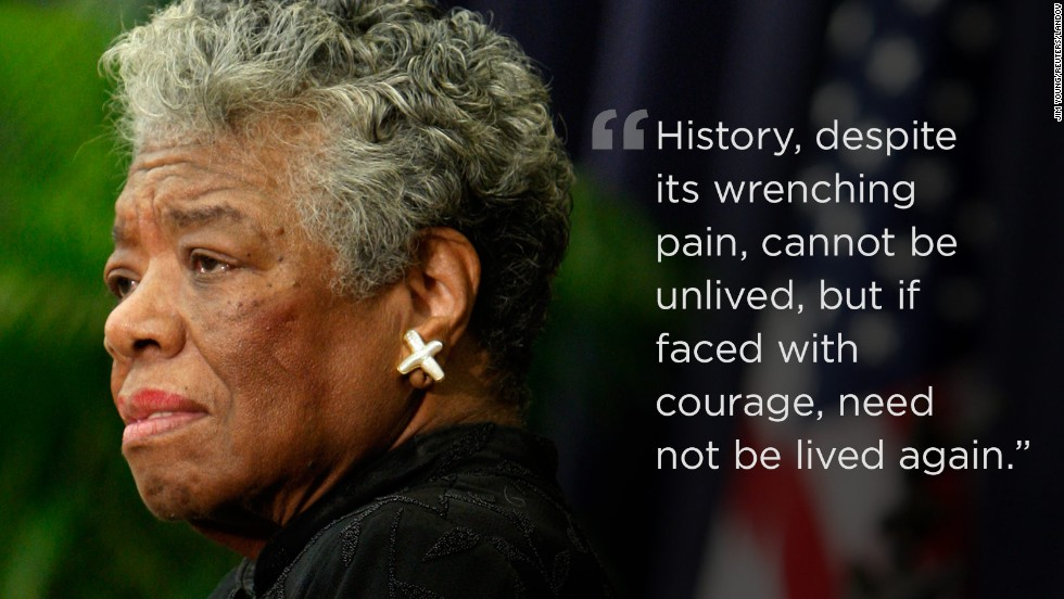 racism in maya angelou s i know The themes encompassing african-american writer maya angelou's seven autobiographies include racism, identity, family, and travel angelou (1928–2014) is best known.
