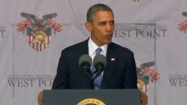 Obama outlines foreign policy vision